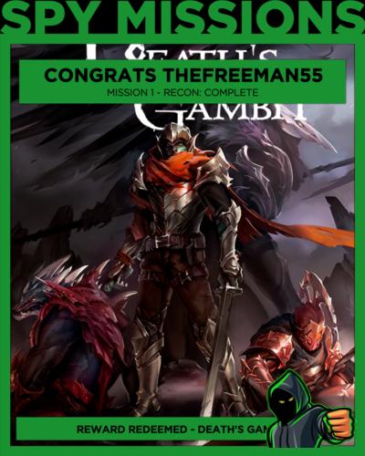 Free Game Won Death's Gambit