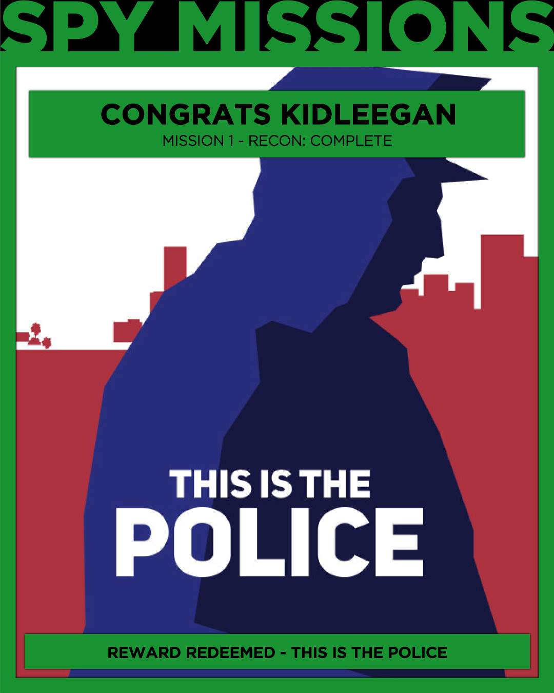 Free Game Won This is the Police