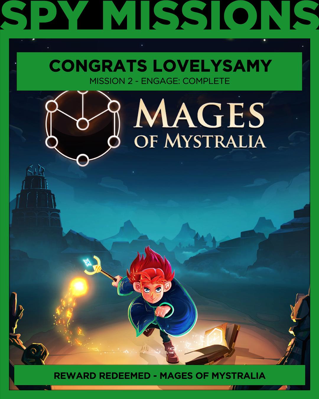 Free Game Won Mages of Mystralia