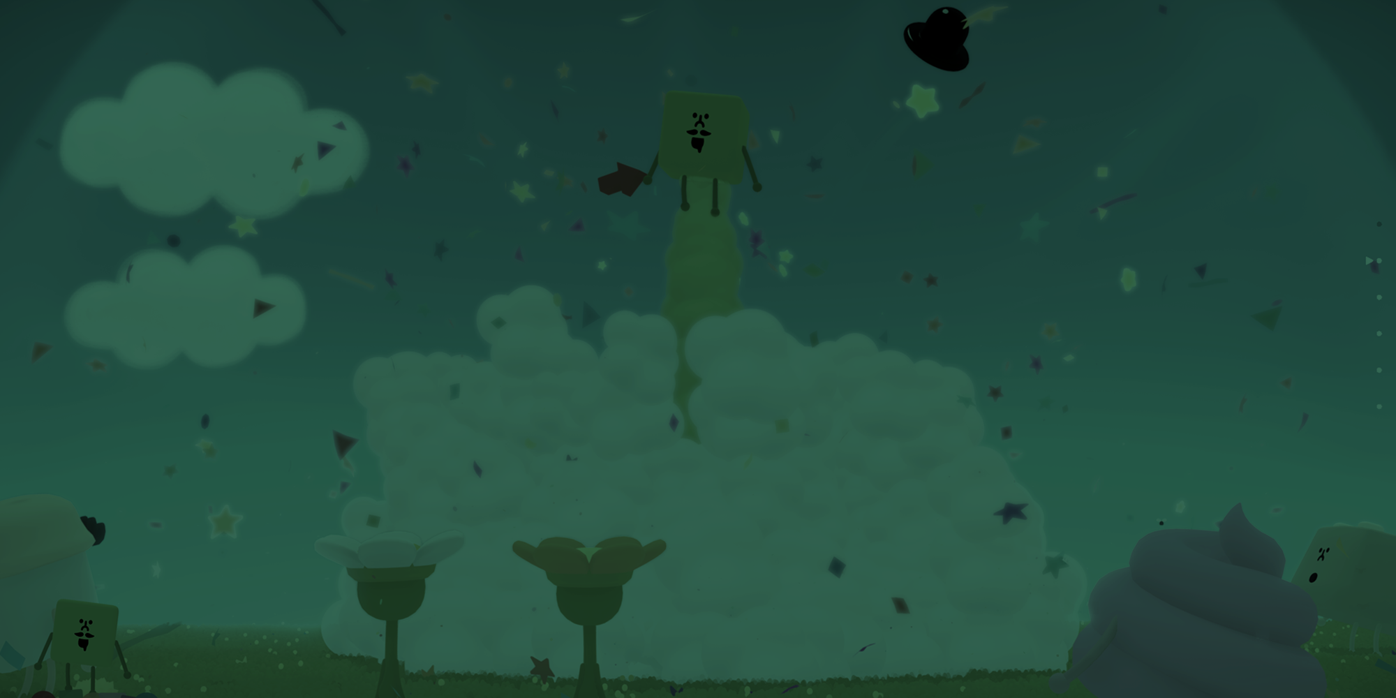 Wattam Game Review Feature Image