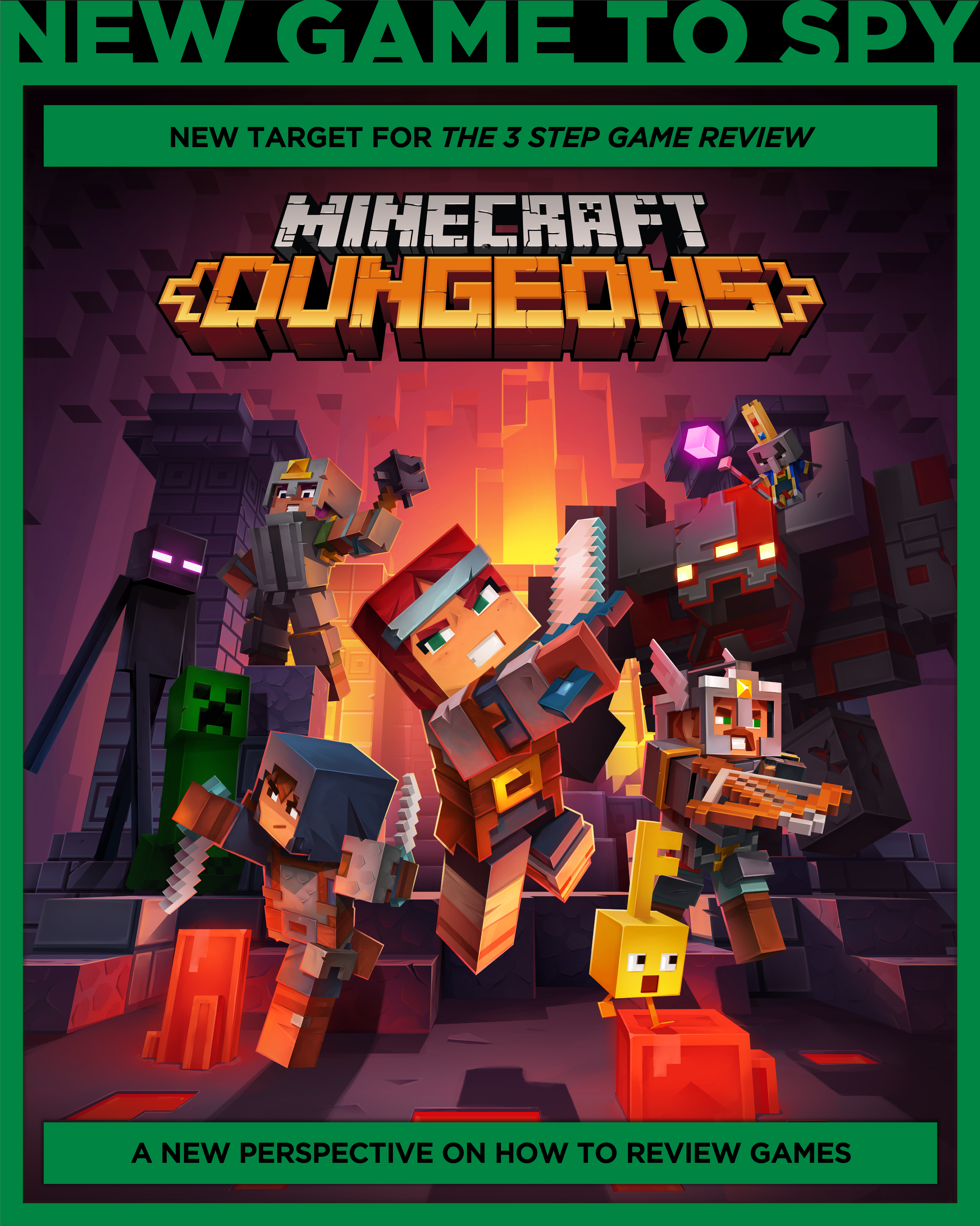 Next Game Review Minecraft Dungeons