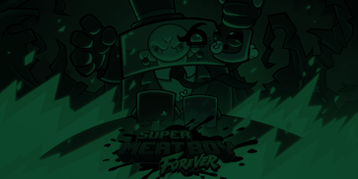 Super Meat Boy Forever Game Review Feature Image