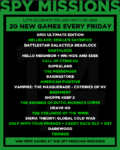 20 new Games for Giveaway